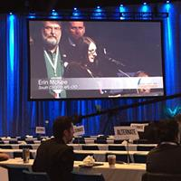 OPEIU Local 277 member Erin McKee tells @aflcio17 that all Americans deserve health coverage now! #aflcio