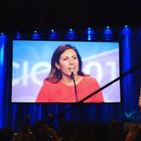 OPEIU Local 8 and Seattle City Council candidate Teresa Mosqueda addresses the 2017 AFL-CIO Convention. #aflcio2017 #opeiu